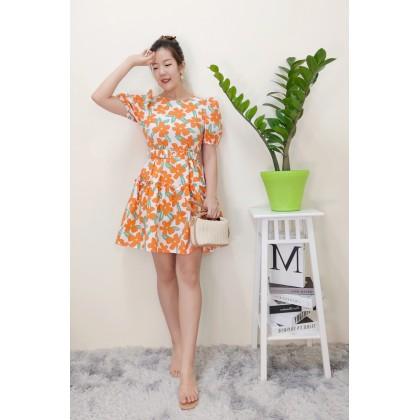 Izlyn Flora Dress