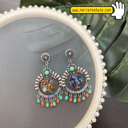 Classical Style Earrings